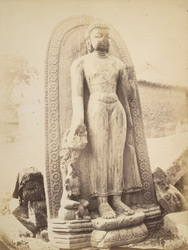 Colossal figure of Boodh (as leader), Kispa, Gya.